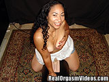 Lusty Latina Emeila Having a Breath Taking Orgasm