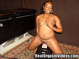 Ebony Teen Having an Orgasm