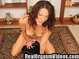 Hot Tan Milf Cums On Sybian