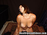 Busty Girl Getting Off Riding the Sybian